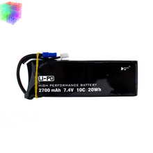 Hubsan H501S lipo battery 7.4V 2700mAh 10C Batteies 1pcs or 2pcs for Hubsan H501C rc Quadcopter Airplane drone Spare Parts