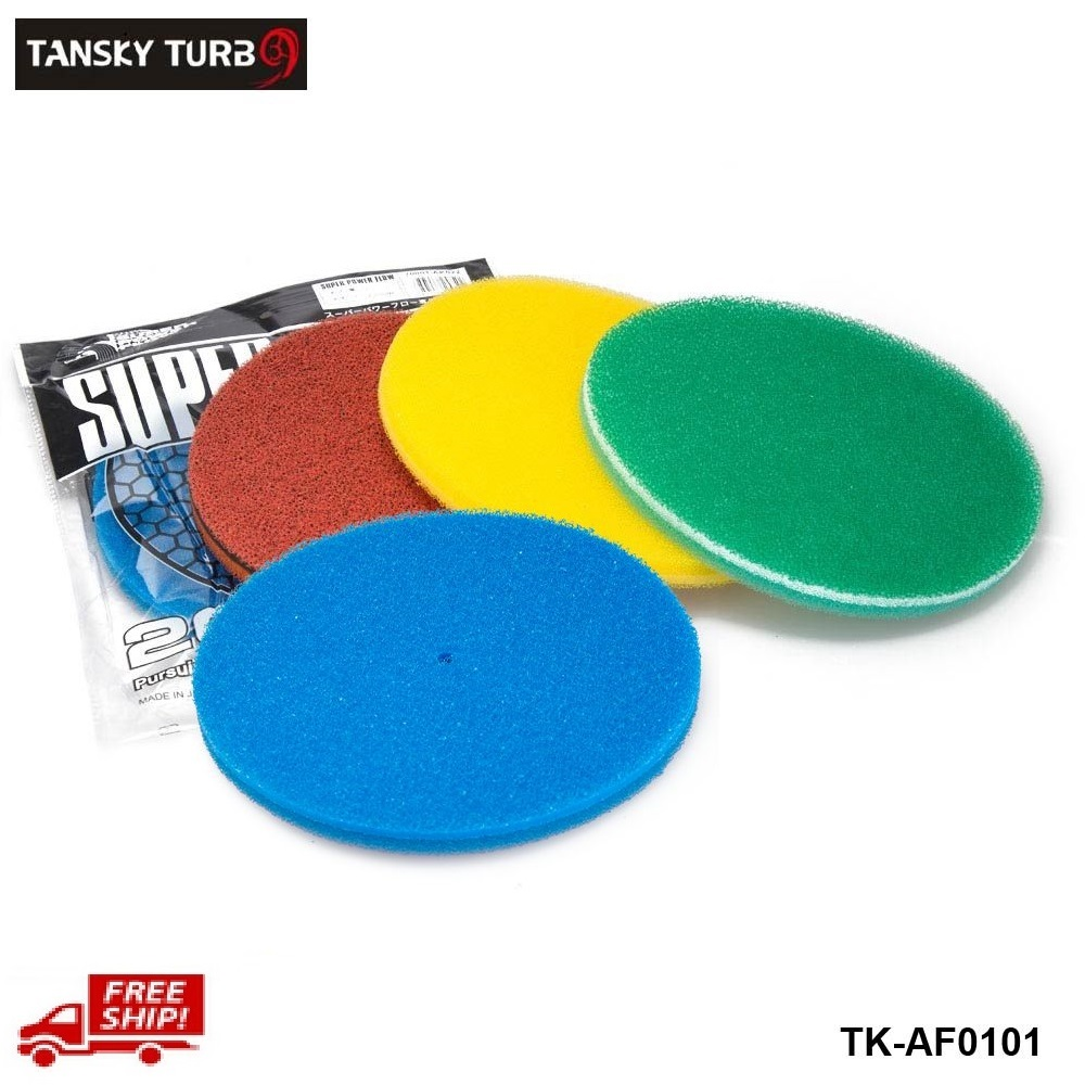 Tansky - Air Filter Foam/Air Filter sponge Green,Red,Yellow blue TK-AF0101-1P-FS(China (Mainland))
