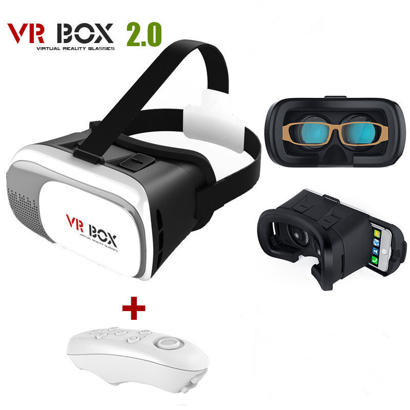 Universal Google Cardboard VR BOX 2 Virtual Reality 3D Glasses Game Movie 3D Glass For iPhone Android Mobile Phone Cinema Newest(China (Mainland))