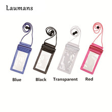 Buy Laumans outdoor travel 100% Sealed Waterproof Bag Pouch Phone Cases Samsung Galaxy S5/S6/S7 iphone xiaomi Huawei for $1.50 in AliExpress store