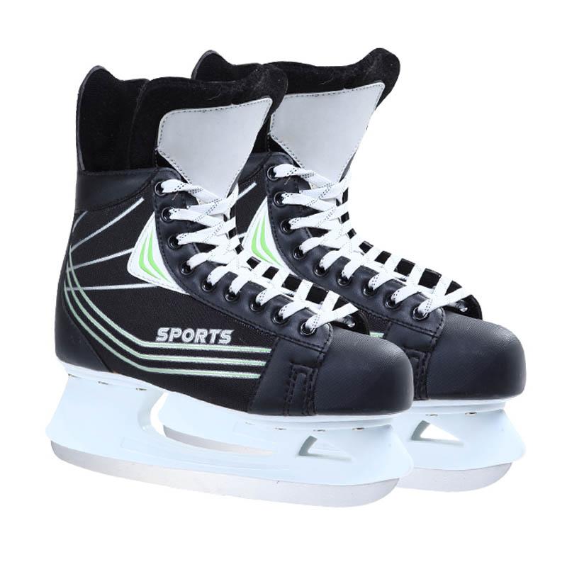 Original Labeda Ice Hockey Shoes Adult Child Ice Skates Professional Flower Knife Ice Hockey Knife Shoes Real Ice Skates(China (Mainland))