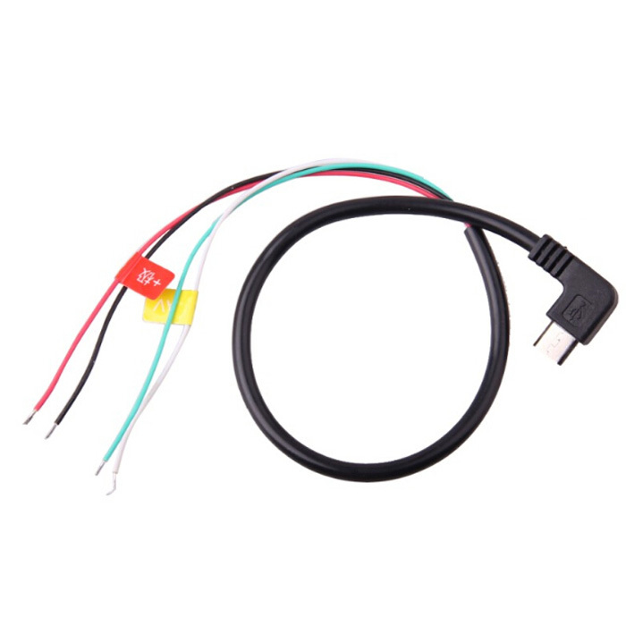 High quality Digital Cables Micro USB To AV Out Cable For SJ4000 Action Camera For FPV Video Audio Transmitter Cable AV(Hong Kong)