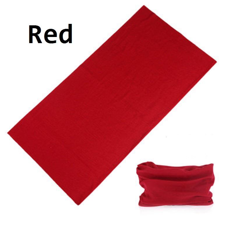 2017 multifunctional seamless bandanas custom Solid color Face Shield bandanas magic scarf Men and women headwear(China (Mainland))