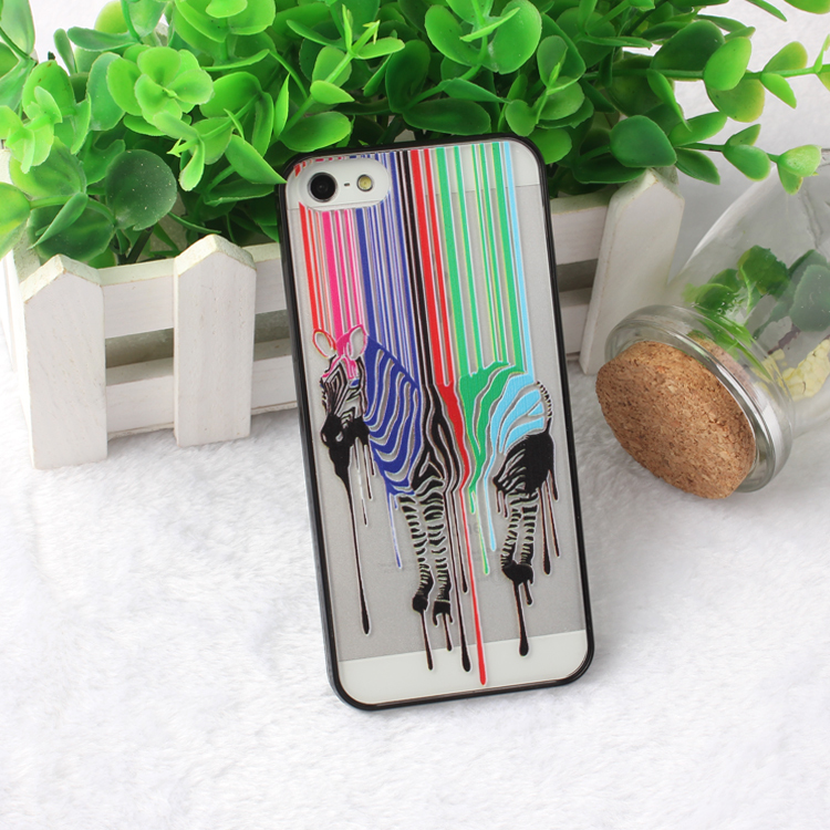 Coloful Painted Love Patterns Hard PC Protective Phone Case iphone 5 5s 5g Ultra Thin Back Cover - Shop1372007 Store store