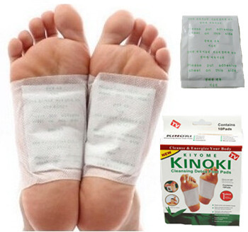 Patches Kinoki Pads Cleansing Detox Foot Pads / Cleanse & Energize Your Body Free Shipping(China (Mainland))