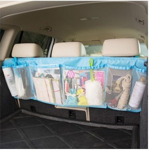 Car Vehicle Seat Back Hanging Organizer Collector Storage Hanging Holder Bag Large Capacity Oxford Cloth+PP Material(China (Mainland))