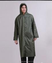 Long poncho raincoat for 160-180cm heright Raincoat Poncho Hood Travel Trip Camping Hiking Must Use Rain Coat Free shipping