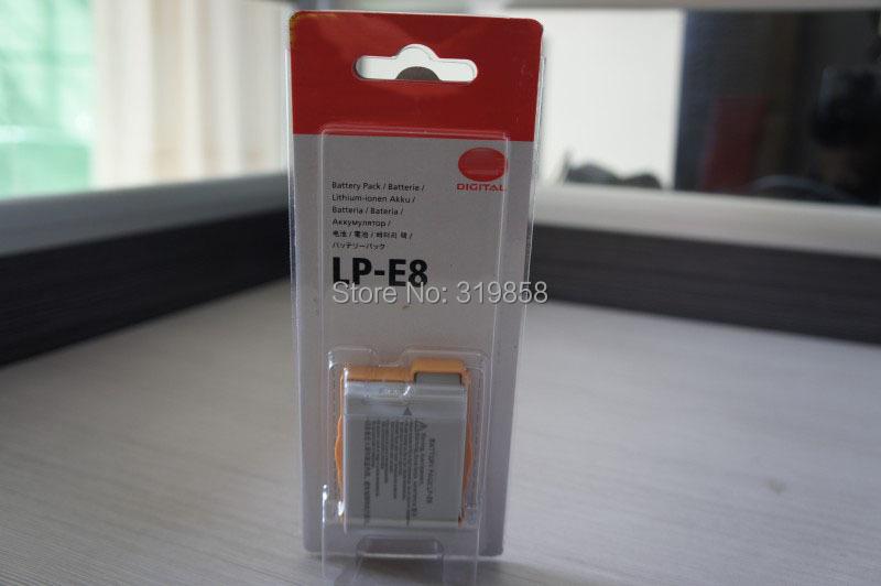 LP-E8 digital Li-ion batteries LP E8 LPE8 Camera Rechargeable Battery pack Canon EOS 5D2 5D3 7D 6D 70D 60D LC-E6E - Online Store 319858 store