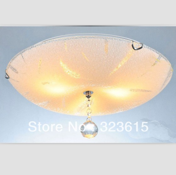 K9 Crystal Light LED Ceiling lamp modern minimalist bedroom hall  glass lamp aisle lights feathers figure DIA 30 CM H 10 cm<br><br>Aliexpress