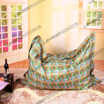 Здесь можно купить  FREE SHIPPING colorful dot beanbag chair water proof bean bag cover baby POLYESTER bean bag sofa 140*180cm bean bag bird  Мебель