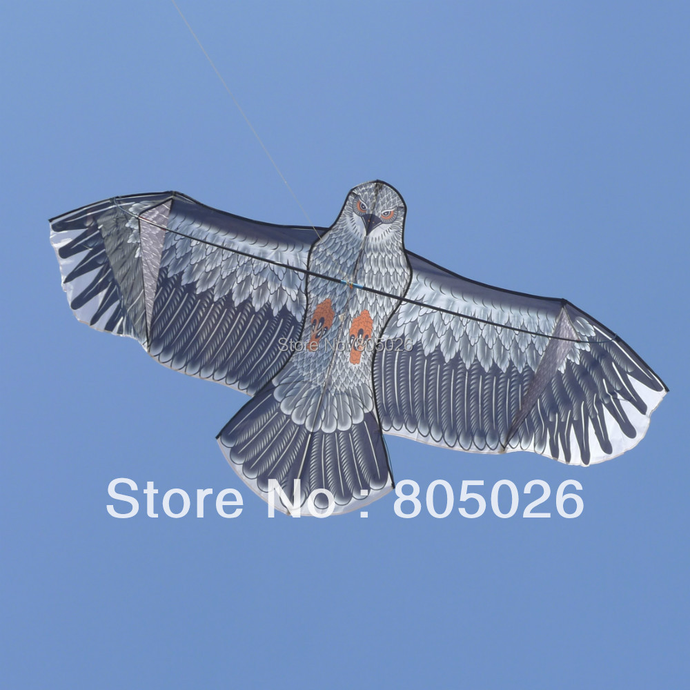 Free shipping high quality 1.8m eagle kite flying higher with reel line owl kite animal kites wholesale bird toy parts(China (Mainland))
