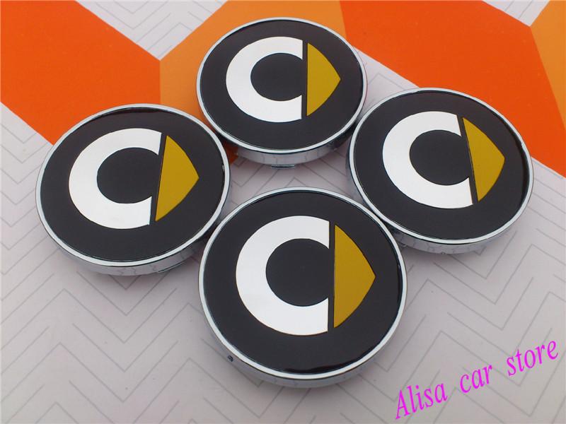 Free shipping Elf  60mm Smart Car Wheel Center Hub Cap Resin Badge Emblem Decal car styling Auto accessories 4pcs/lot(China (Mainland))