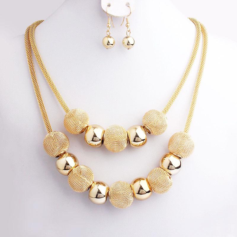 Bijoux Fantaisie Jewelry : Aliexpress buy fashion handmade net beads metal
