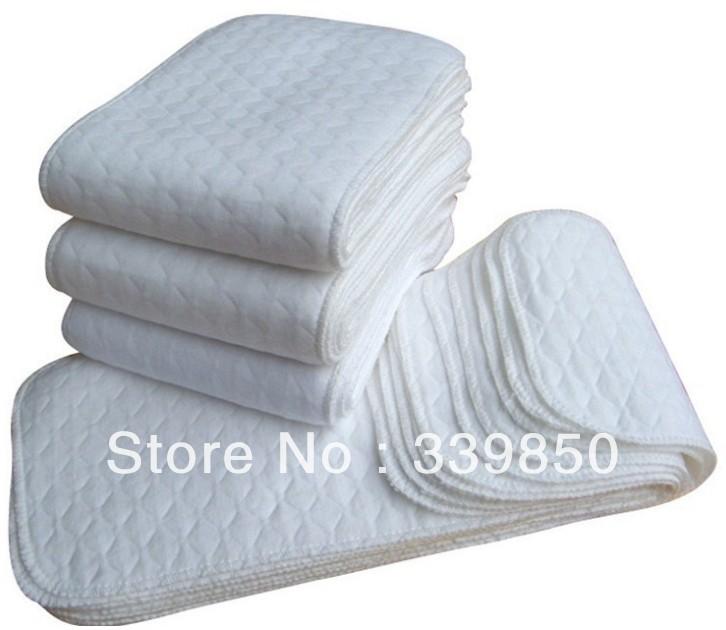 Washabl hemp+cotton baby diaper insert nappy nappies Original Fabric 1 3layers