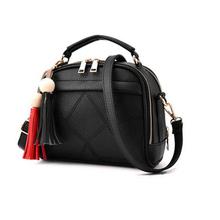Buy DIDA BEAR Women Small Leather Shoulder bags Girls Crossbody Messenger bag Lady Handbag Purse Femme Sac Epaule bolso Black for $14.23 in AliExpress store