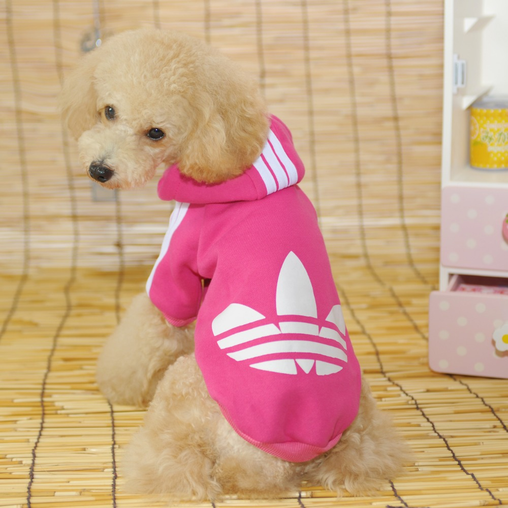 2015 Puppy dog coat and jacket winter adidogs pet dog clothes pet outfits cheap dog clothes little pet shop supplies(China (Mainland))