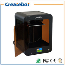 2016 Black/Blue 3D Printer Single-Extruder Support ABS/PLA 3D Filament Createbot MID 3D Printer With Touchscreen and heatbed
