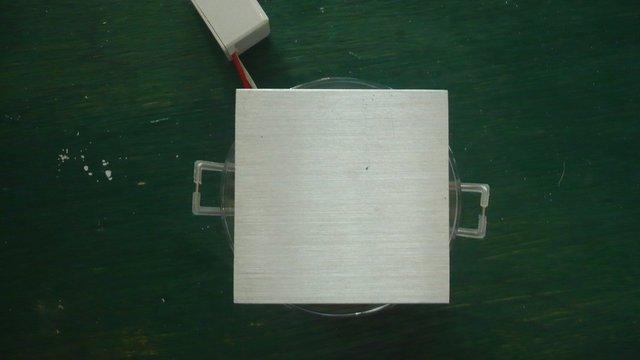 3*1W warm white led ceiling light;65*65mm
