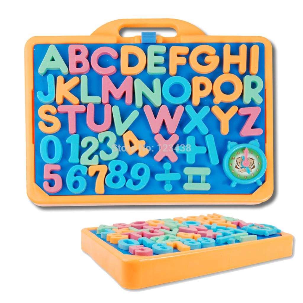 Plastic Magnetic Writing Board Baby Number Alphabet ABC 123 Math Board Early Learning with English Toys(China (Mainland))