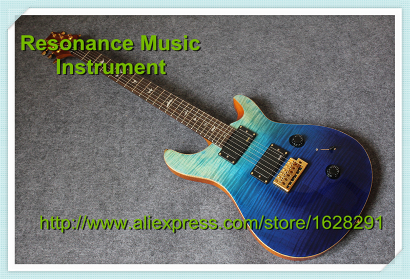 New Arrival China PRS Guitar Electrica With Tiger Flame Finish Custom 22 PRS Guitar Body & Kits Avaialble(China (Mainland))