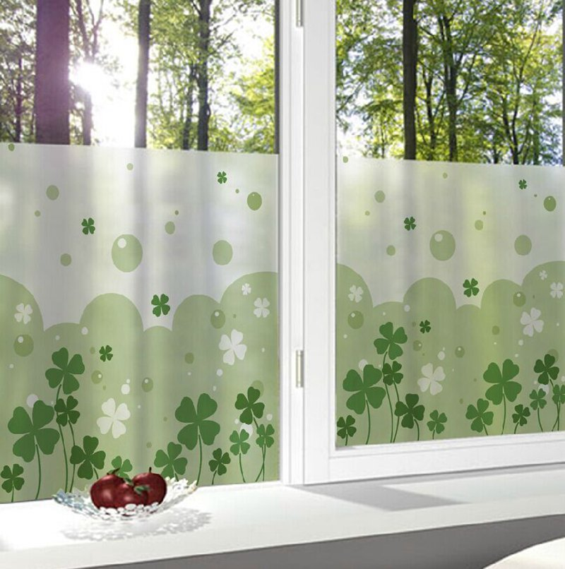 glass window decorative film privacy glass stickers bedroom bathroom