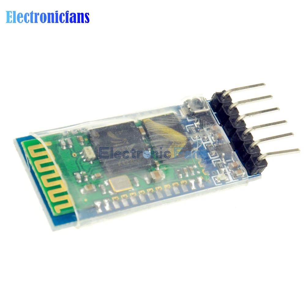 Free Shipping HC05 HC-05 Master Slave 6Pin JY-MCU Anti-reverse RF Transceiver Wireless Bluetooth Serial Module 3.3V for Arduino(China (Mainland))