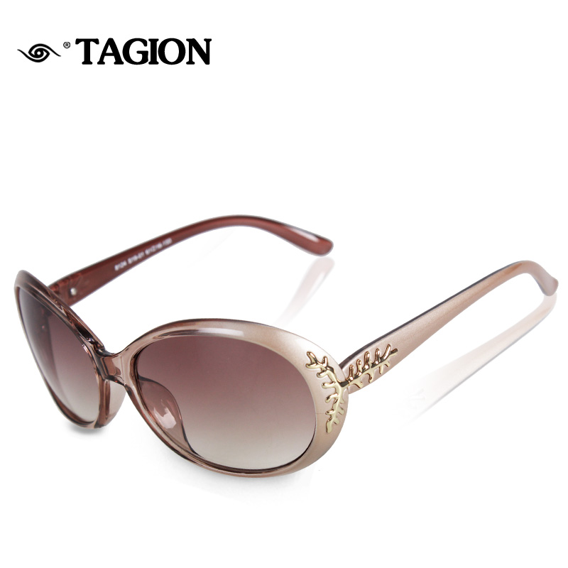 2016 Fashion Brand Designer Women Sunglasses Oculos De Sol Original Eyewear With Chic Pattern Casual Outdoor Sun Glasses 8124(China (Mainland))