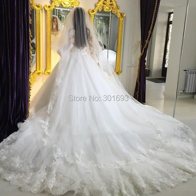 Turmec Wedding Dress Ball Gown Veil
