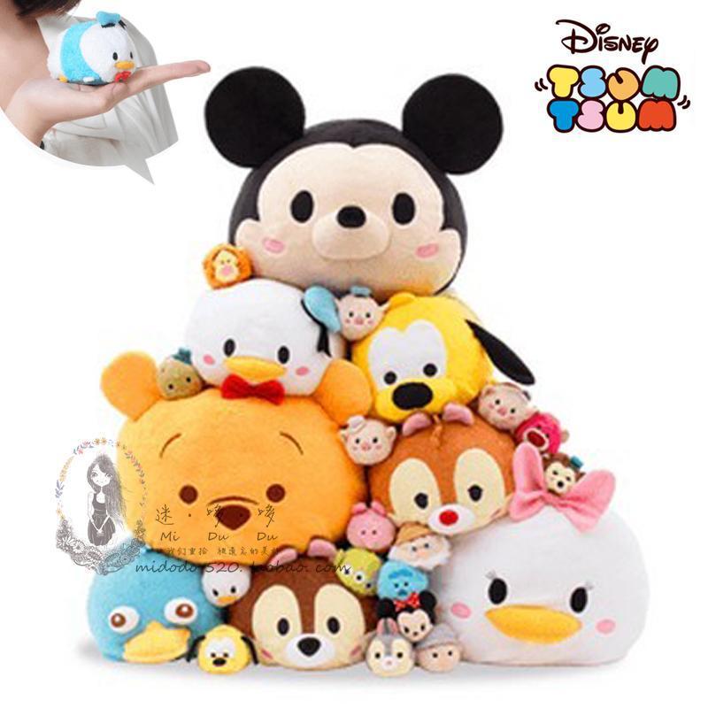 Гаджет  TSUM TSUM  TOY wholesale 2014 Original Japan hottest game mickey Donald Duck three eyes dale chip plush pendant doll for phone None Игрушки и Хобби