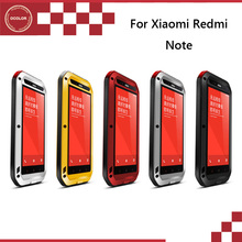 Buy Xiaomi Redmi Note Love Mei Water/Dirt/Shock Proof Back Case Cover New Arrival Protector Hard Shell Free for $24.85 in AliExpress store
