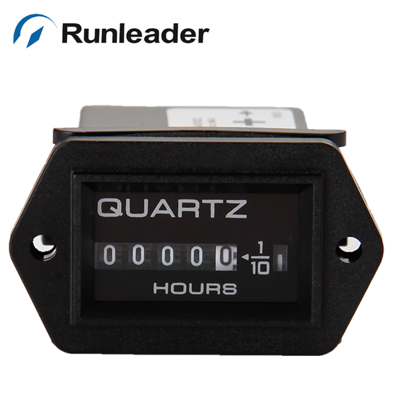 Runleader! AC:220V Truck TRAILER Tractor Diesel Outboard Engine farm machinery Hour Meter(China (Mainland))