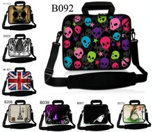 High Quality Waterproof Neoprene For 12 13 13.3 14 15 15.6 17 inch Tablet PC Bag Handles and outside pockets Shoulder Bags