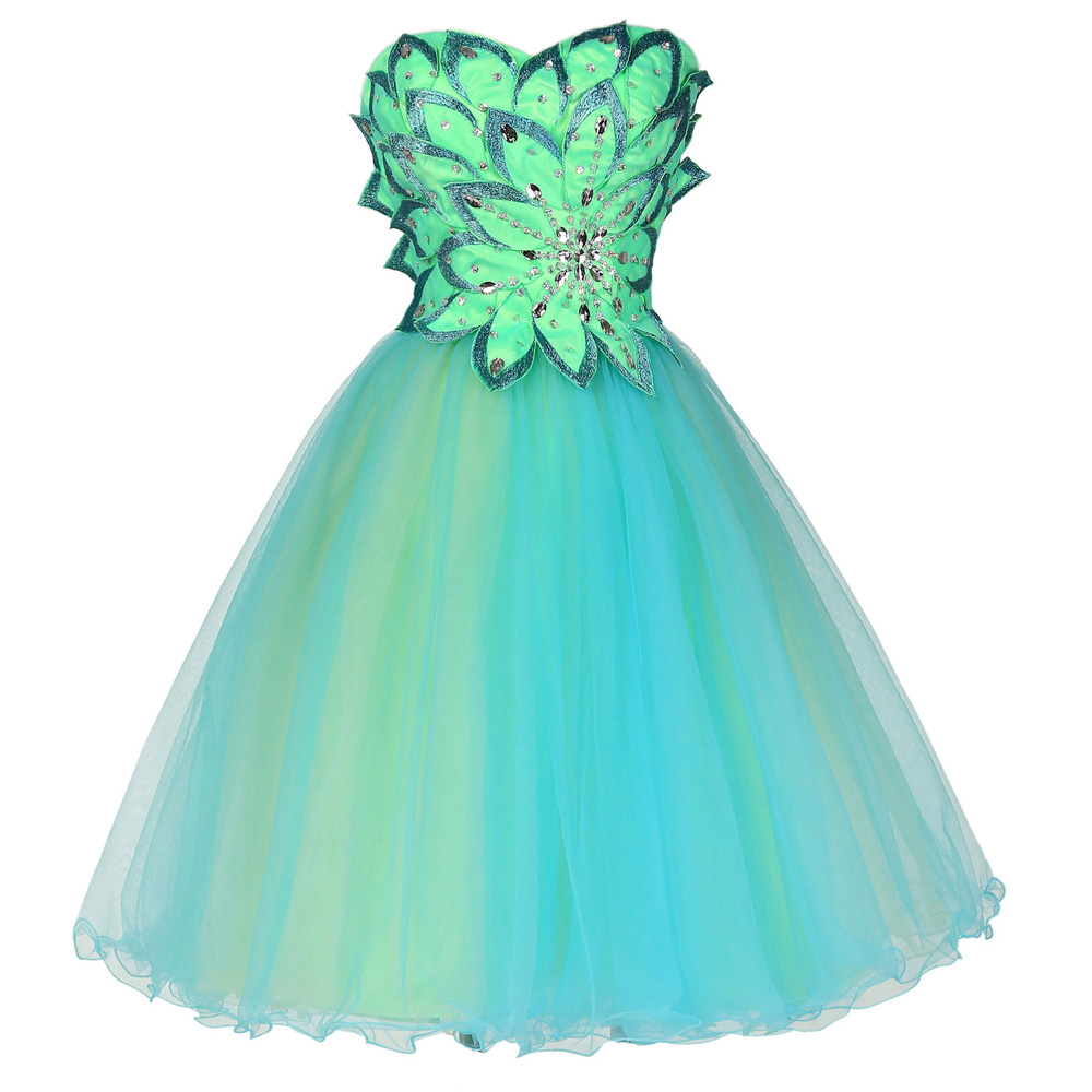 Turquoise Short Prom Dresses 58