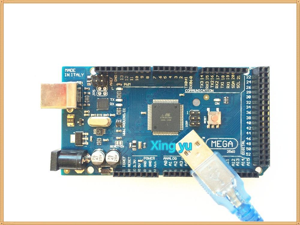 Электронные компоненты XY 5sets/mega 2560 R3 Mega2560 REV3 atMega2560/16au + usb/, arduino sim900 arduino quadband gsm gprs shield wireless extension board module mega 2560 r3 atmega2560 16au