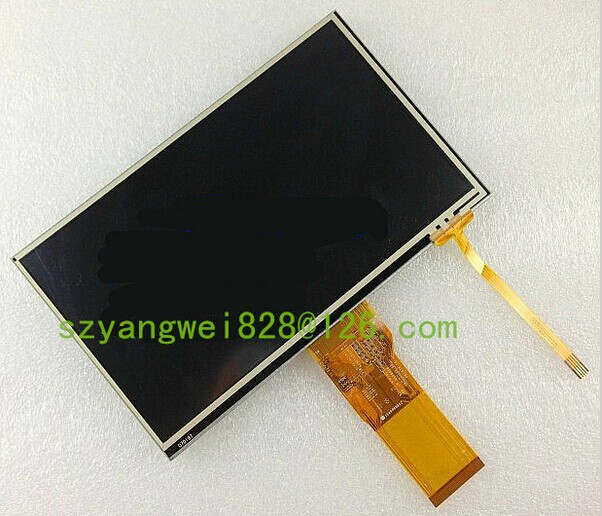 original New TIANMA 7.0 inches TM070RBH10 LCD screen+touch panel MP4 PMP MID UMPC tablet car DVD navigation portable LCD screen(China (Mainland))