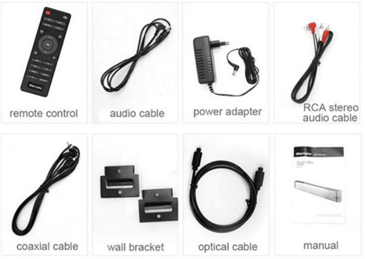 Bluetooth Soundbar for TV Slim Column Speaker Soundbar