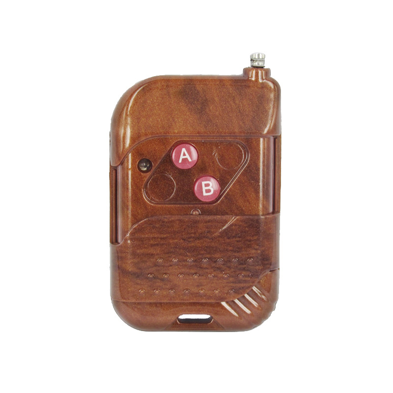 Push cover two key customized mahogany electric vehicle wireless remote control / wireless remote control device of motorcycle(China (Mainland))