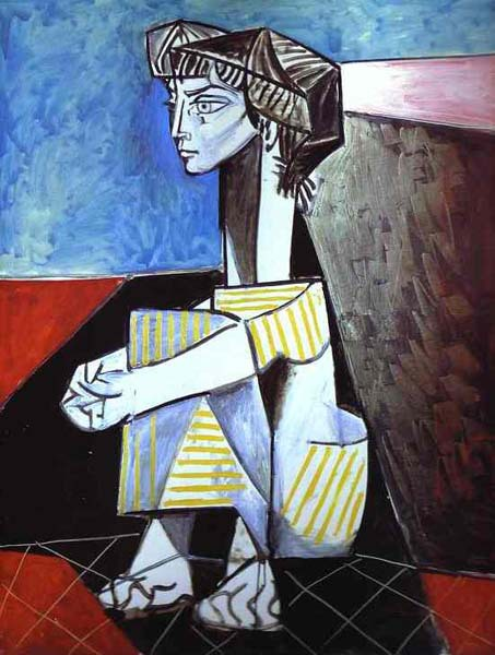 Handpainted Modern Canvas Painting Reproduction Picasso oil painting for home decoration Free shipping(China (Mainland))
