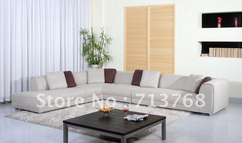 Modern furniture / living room big model fabric sofa MCNO9967(China (Mainland))