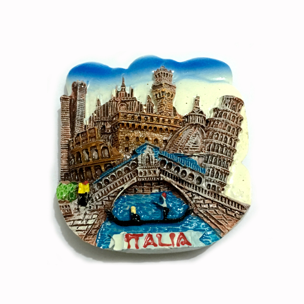 Italy venice tourism souvenirs fridge magnets creative 3d for Home decor gifts