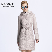 MIEGOFCE 2016 New spring jacket women winter coat women warm outwear Thin Padded cotton Jacket coat Womens Clothing High Quality(China (Mainland))