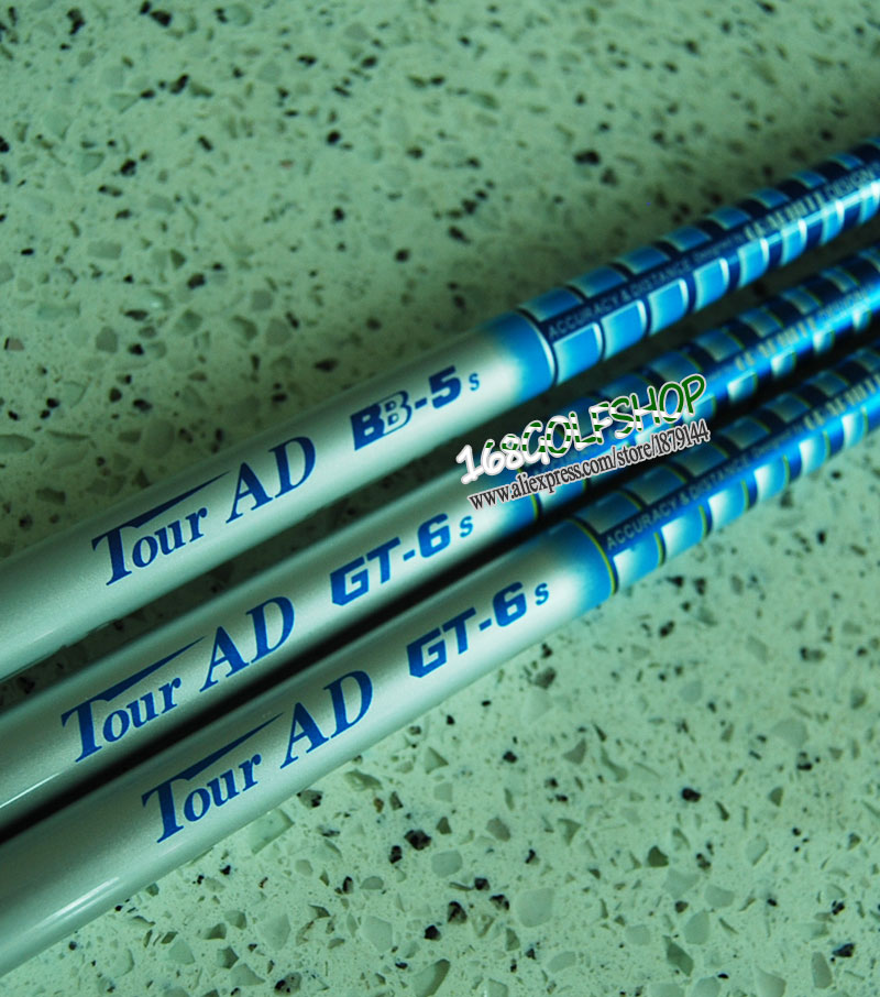New Tour AD BB-5/GT-6 Golf wood shaft 6pcs/lot  clubs shaft  Regular or Stiff flex Golf  Graphite shaft  Free shipping<br><br>Aliexpress
