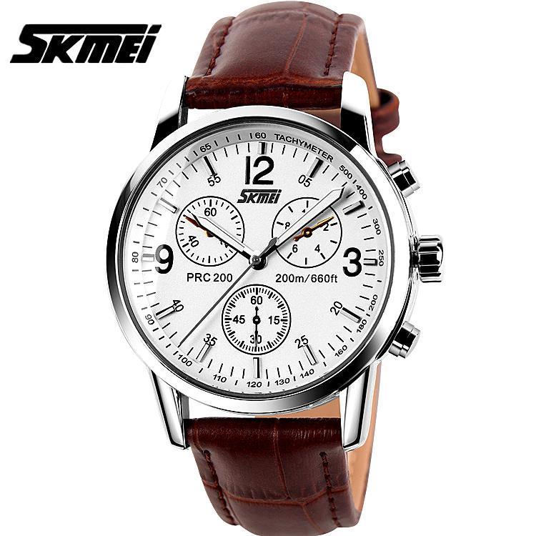 Watches men Skmei luxury brand quartz wristwatch casual Business reloj hombre dive 30m sport Clock relogio masculino 9070