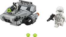 Space Star war The Force Awakening First order mini snow speeder building block stormtroopers minifigures compatible with lego