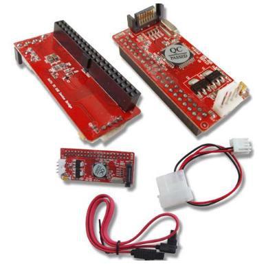 T 5pcs Pata 2.5 inch IDE TO SATA 7Pin 44 pin HDD Hard Disk Driver Converter Adaptor fit ATA 100 133 HDD CD DVD Adapter Parallel(China (Mainland))