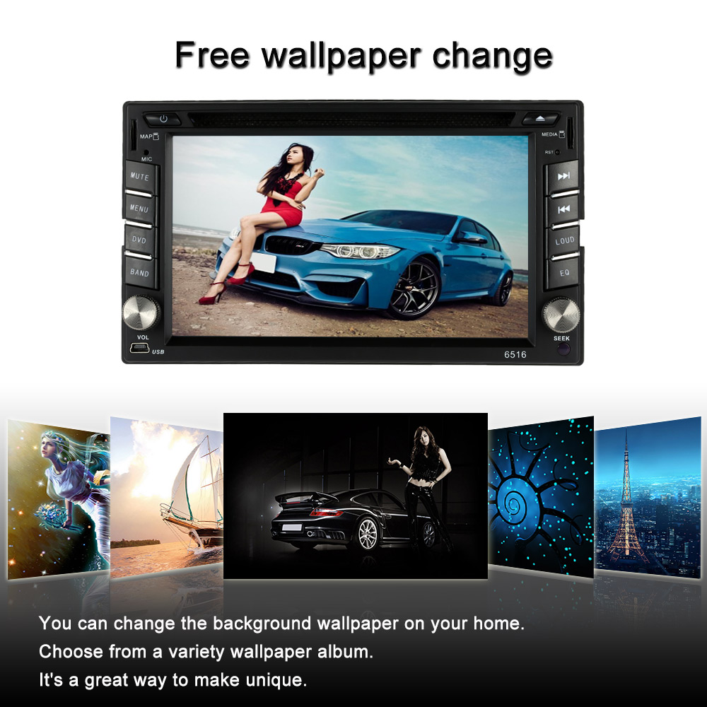 6.2 Inch Screen 2 Din Car Radio CD/DVD Player for Golf v BMW e46 Opel Astra h VW Polo Mondeo 4 Mazda 3 2008(China (Mainland))