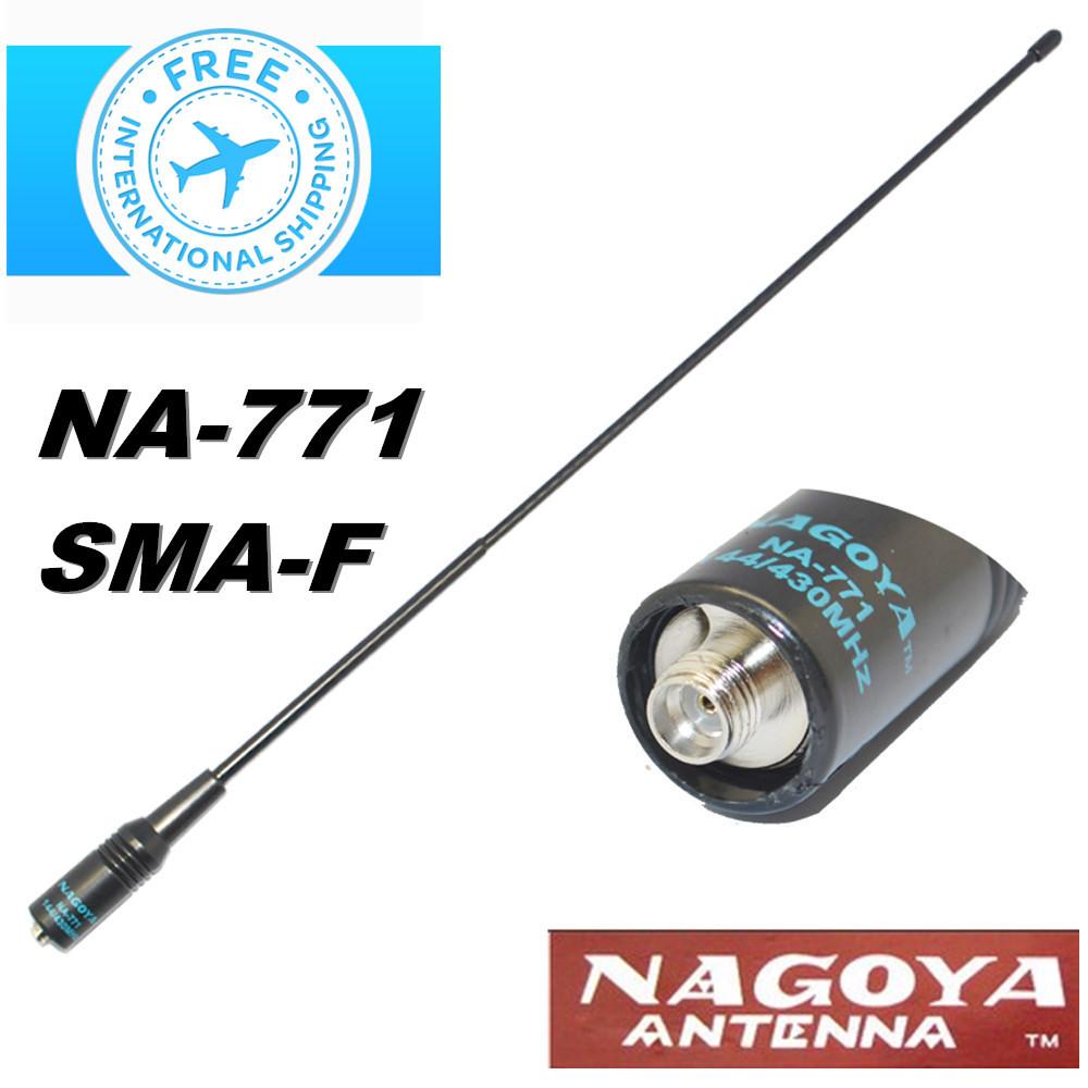 NAGOYA NA-771 SMA-F Dual Band Radio antenna for Icom IC-W32A IC-T7H IC-V80 /BAOFENG UV-5R/A/A+/B/C/D/E/E+/F8/F8+ Radio(China (Mainland))