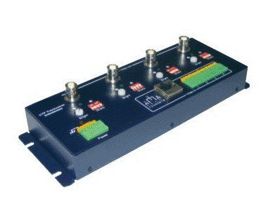 LLT-401R,4 CH Active UTP Video Balun(Receiver),4 CH video,2400m for color video,3000m for B/W video