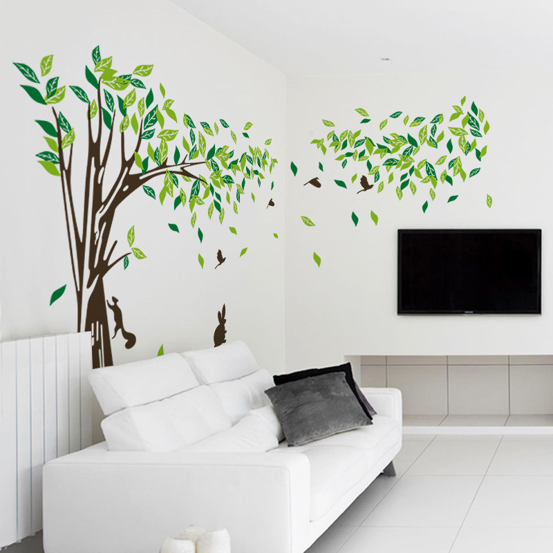 Wall Decor Trees Wall Decals 2017 . Part 36