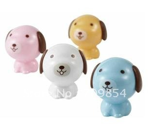 free ship! 39*40*43mm cute dog pencil sharpener children stationery/by randomly#0